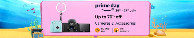 Amazon Prime Day deals on cameras