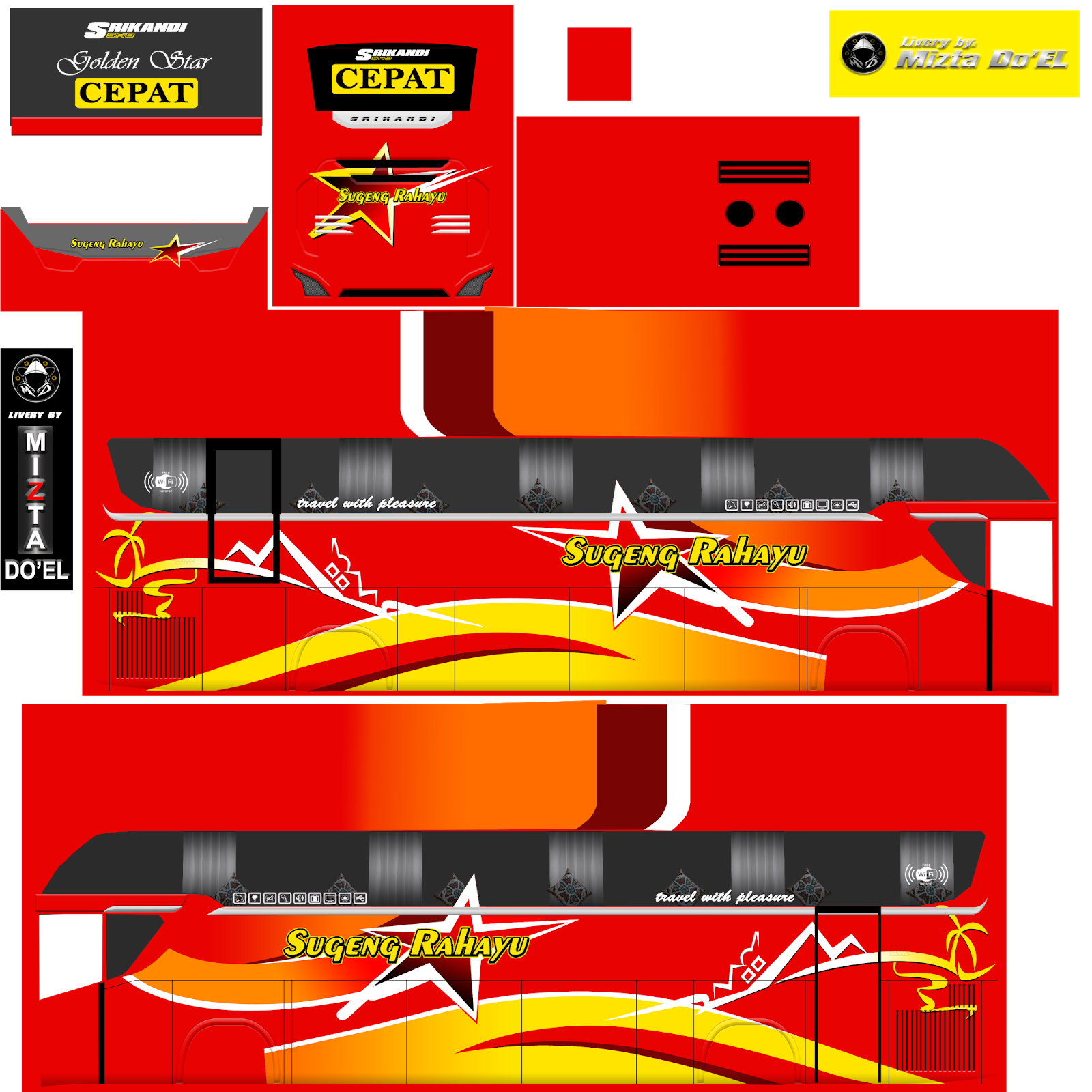 Livery bus simulator indonesia (bussid) memang banyak tersebar di internet. Livery Bussid Srikandi Shd Jernih Terbaru Jetbus 3 ...