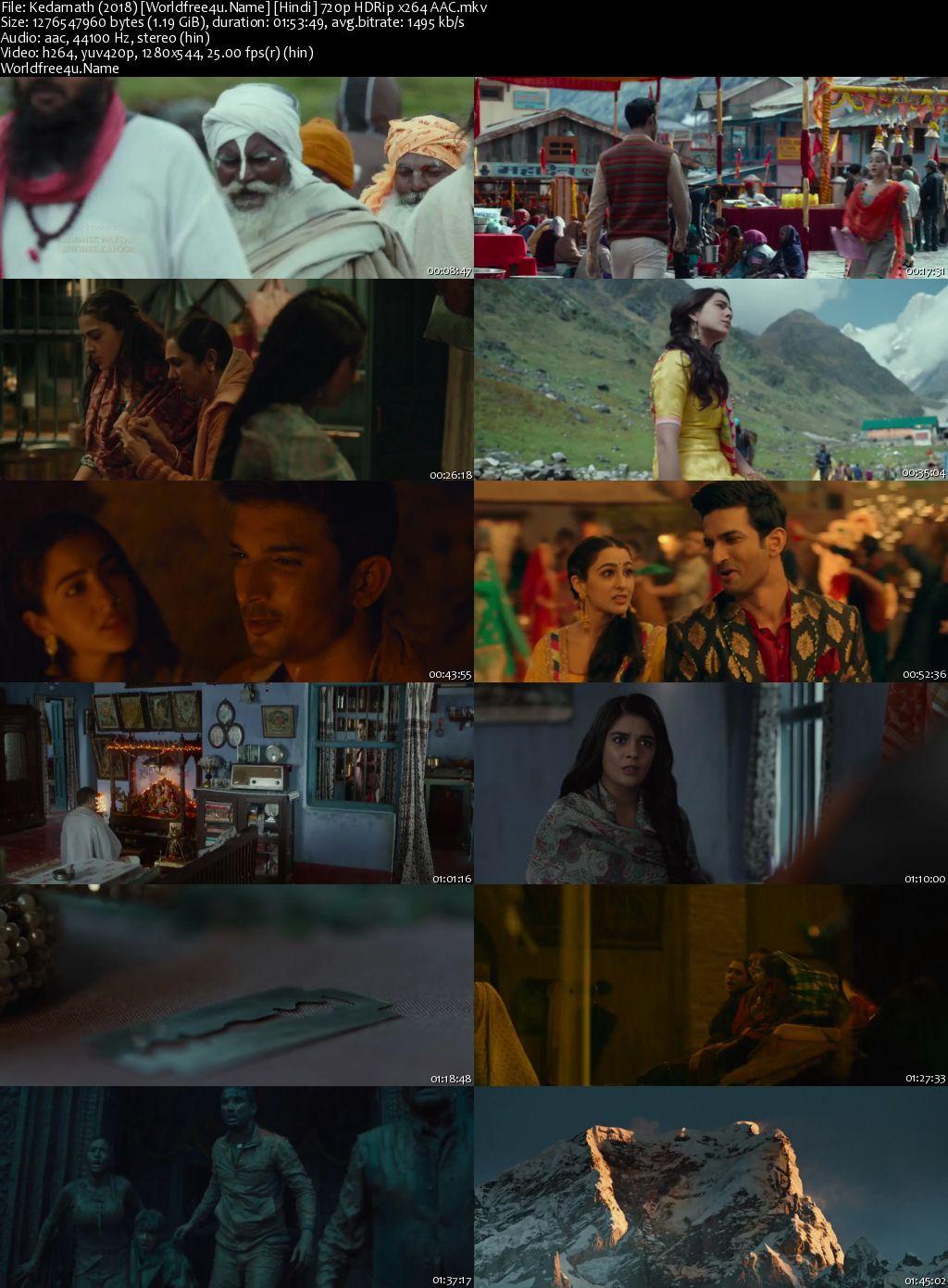 Kedarnath 2018 Hindi HDRip 720p