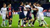 Five red cards as Marseille beat PSG for first time in 21 matches