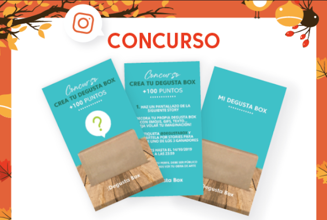 Degustabox sorteo instagram