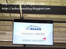釜山航空BX392評價:香港-釜山(2019年12月更新釜山航空香港櫃位位置)