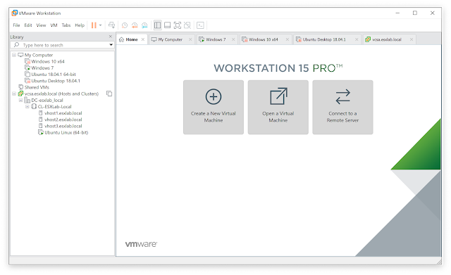 Screenshot VMware Workstation Pro 15.1.0 Build 13591040 Lite (x64) Full Version
