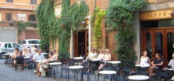 Blog Apaixonados por Viagens - Cafés - Roma - Itália