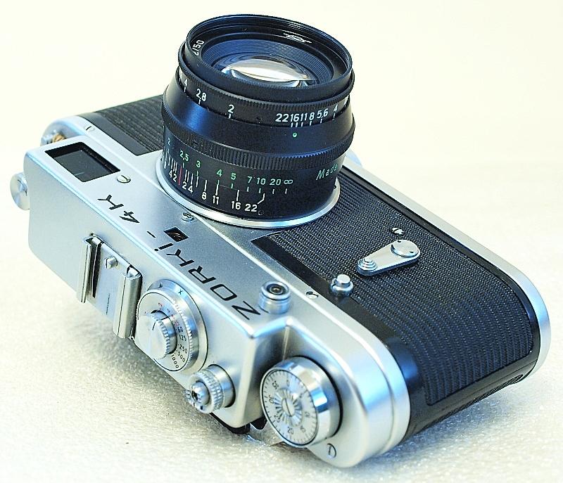 Zorki-4K 35mm Rangefinder Film Camera