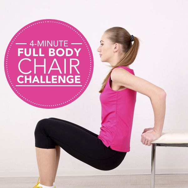 4-Minute Full Body Chair Challenge