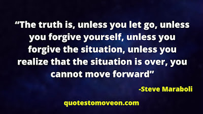 Moving On And Letting go Quotes