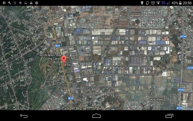 dichjvuj phát tờ rơi ở Thuận An