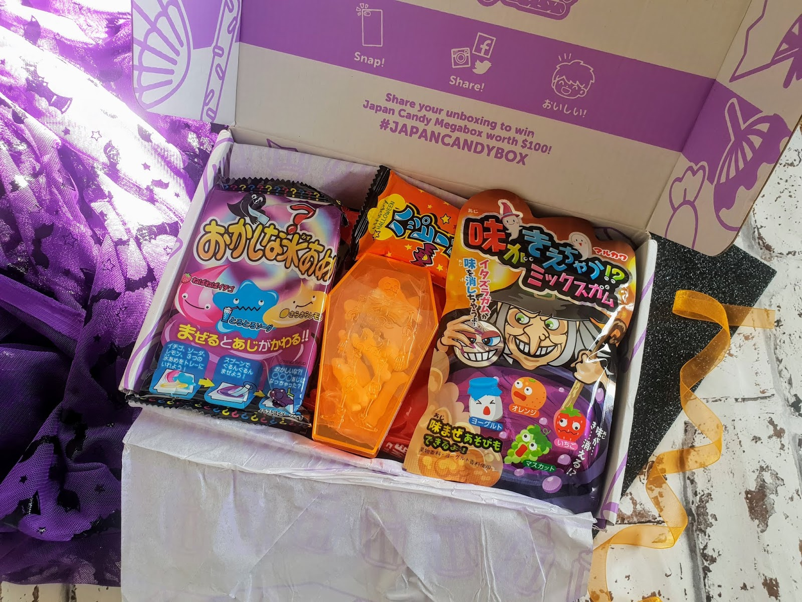 Japan Candy Box 'Halloween Edition' | Review