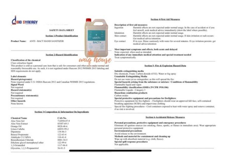 antibact sirim sgs certified sanitizer disinfectant solution