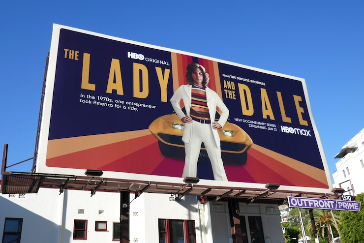 Lady and the Dale series premiere billboard