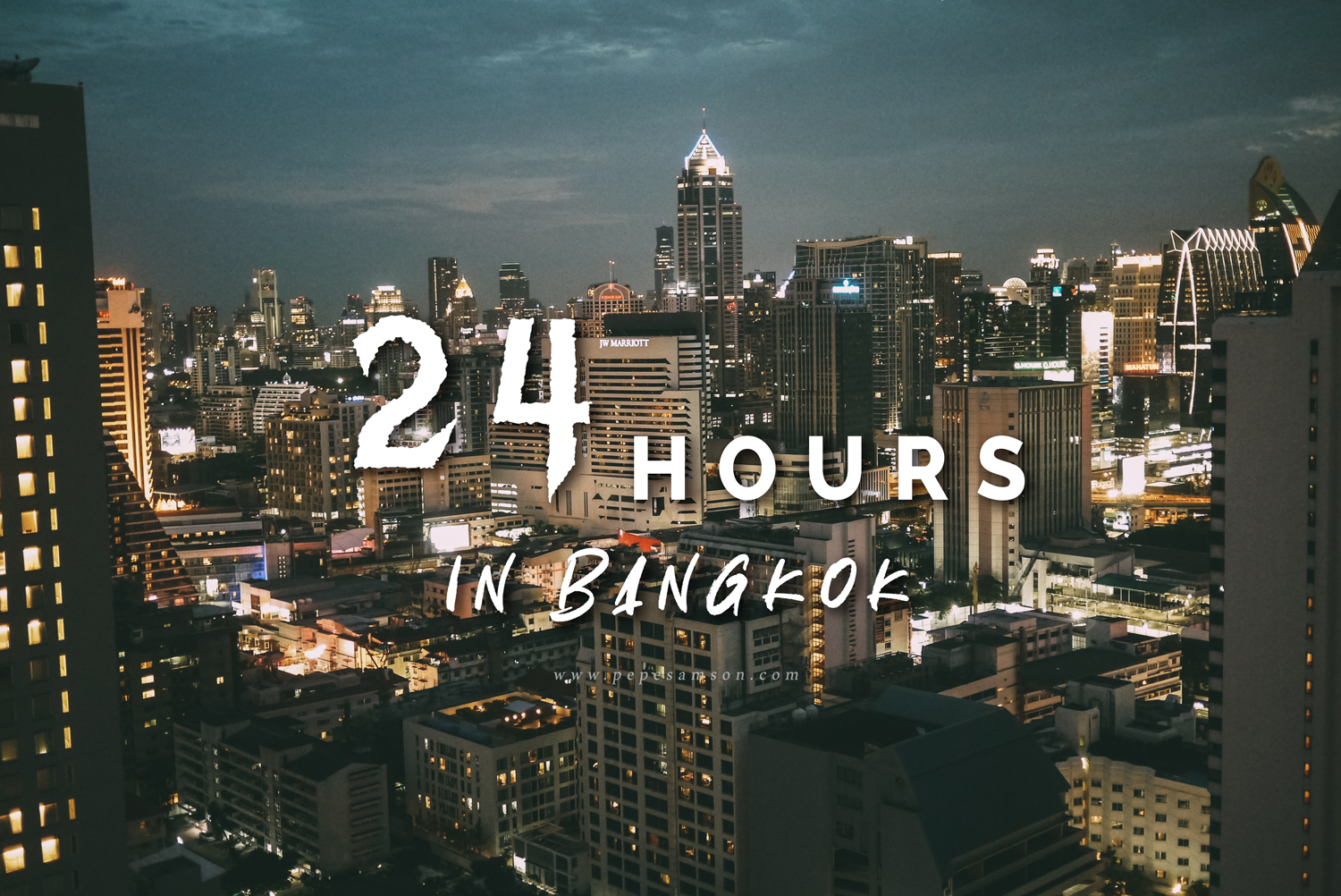 24 Hours in Bangkok: The Ultimate 1-Day Itinerary