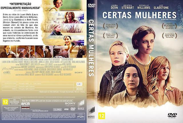 Capa DVD Certas Mulheres [Exclusiva]