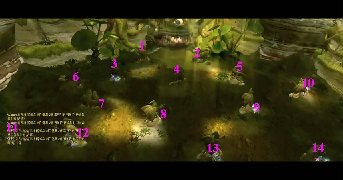 Dragon Nest Guide: Fast Raid Nest Anu Arendel Trial Nest