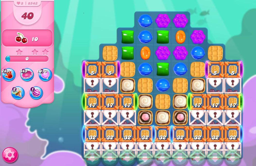 Candy Crush Saga level 8543