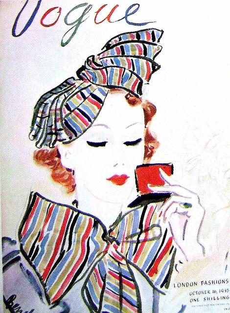 Vogue cover Oct 1935