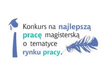 Logo konkursu na najlepszą pracę magisterską o rynku pracy