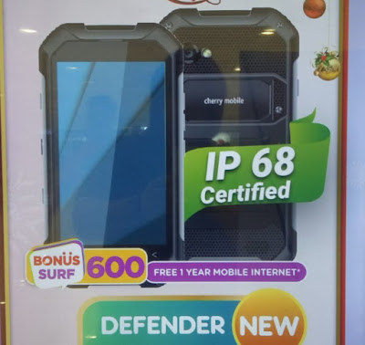 Cherry Mobile Defender; Octa Core Helio P10, 3GB RAM, IP68-Certified for Php9,999