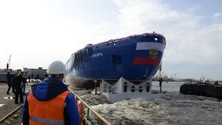 Nuclear Icebreaker Ship