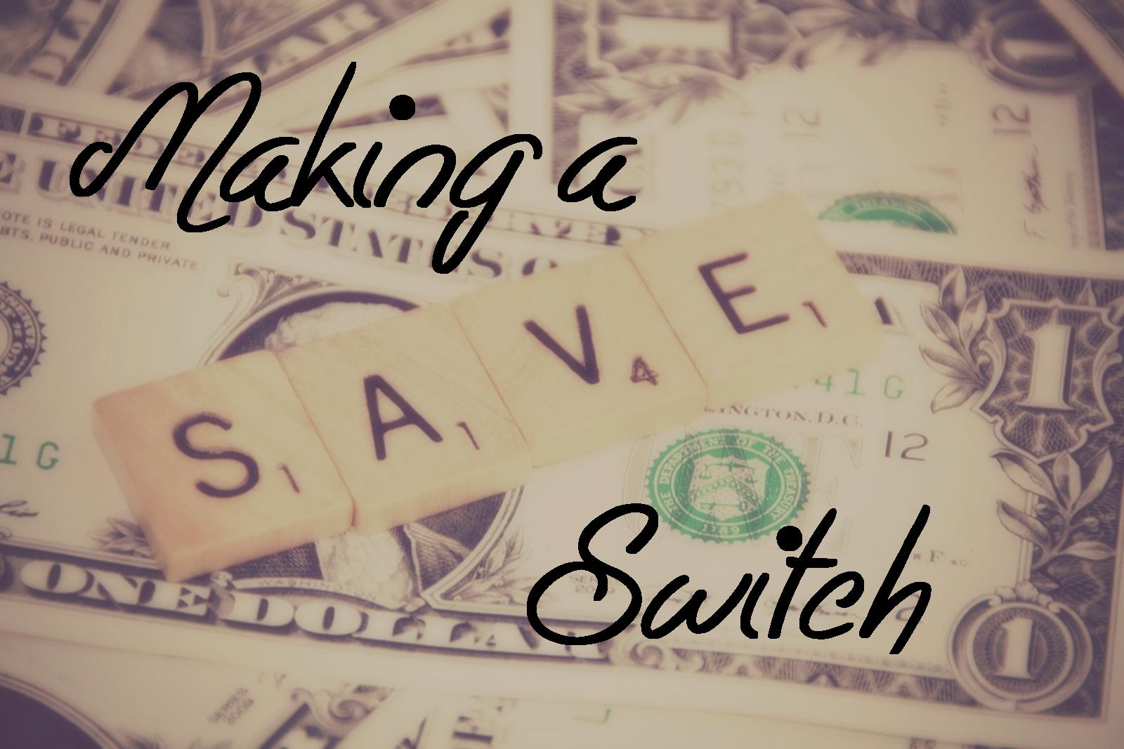 Saving money by switching utility providers