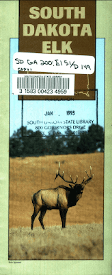 South Dakota Elk brochure