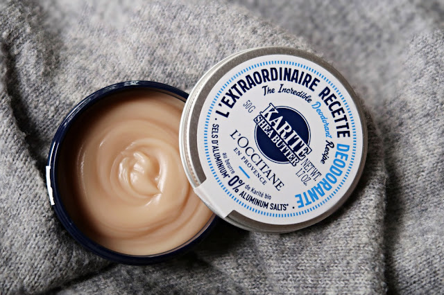 L'Occitane The Incredible Deodorant Recipe In Shea Butter  Review, Photos