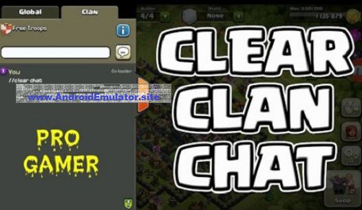 255715a93cc How To Clear Chat In CoC with Trick Commands | Android Emulator