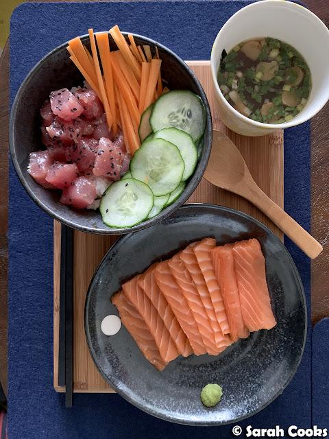 Sashimi from Nosh