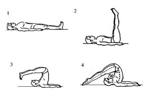 try these yoga postures for a naturally glowing skin