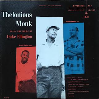 Thelonious Monk, Plays Duke Ellington