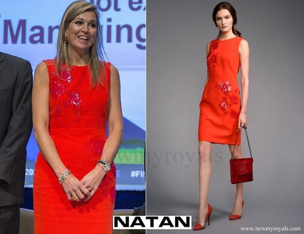 Queen-Maxima wore NATAN Dress Edouard Vermeulen Fall Winter 2016