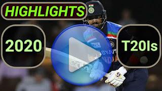 2020 t20i cricket matches highlights online