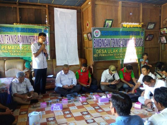 Tiga Desa di Pemulutan Selatan Gelar Bimtek Administrasi