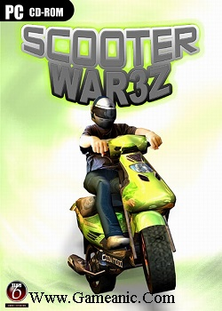 Scooter War3z Game Cover