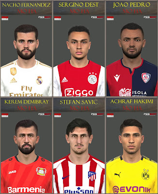 PES 2017 Facepack March 2020 by Mo Ha