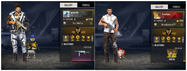 Ajjubhai94 (Total Gaming) vs Gyan Sujan: Who has better stats in Free Fire?