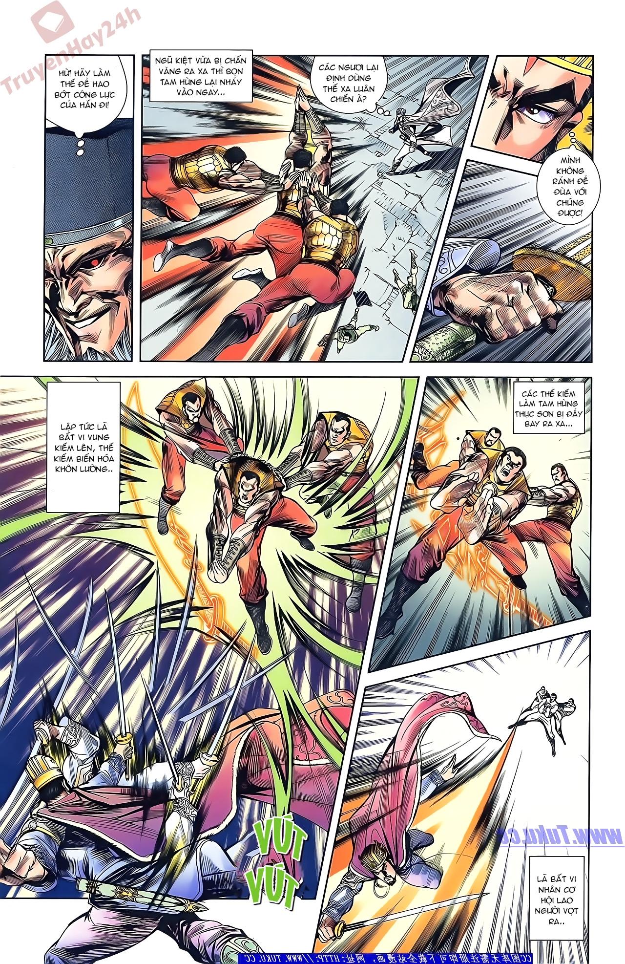 Tần Vương Doanh Chính chapter 45 trang 21