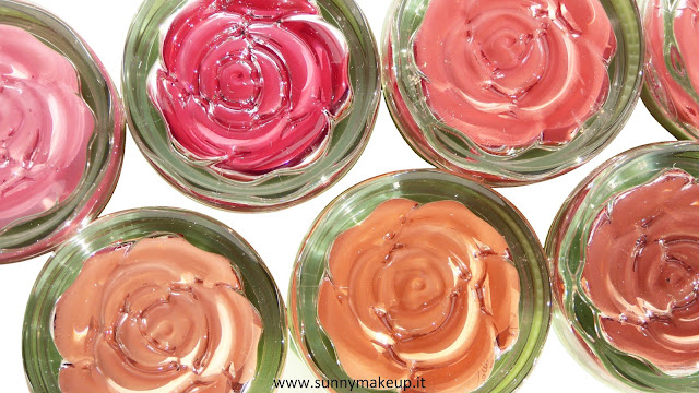 Neve Cosmetics - Blush Garden. Saturday Rose, Sunday Rose, Monday Rose, Tuesday Rose, Wednesday Rose, Thursday Rose, Friday Rose.