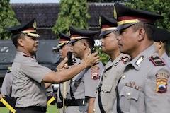 AKBP Abdul Waras Pimpin Sertijab Kabag Ops Dan Kapolsek