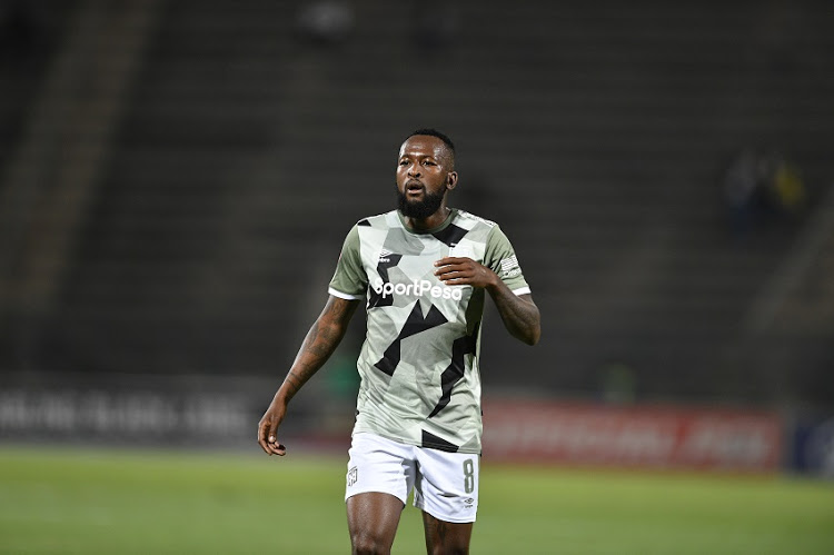 Cape Town City midfielder Mpho Makola