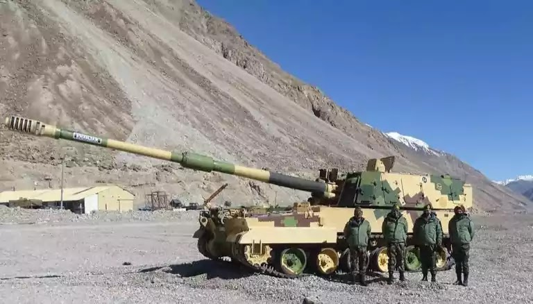 Indian Army Deploys K-9 Vajra In Ladakh; Know All About Its Specifications & Strengths