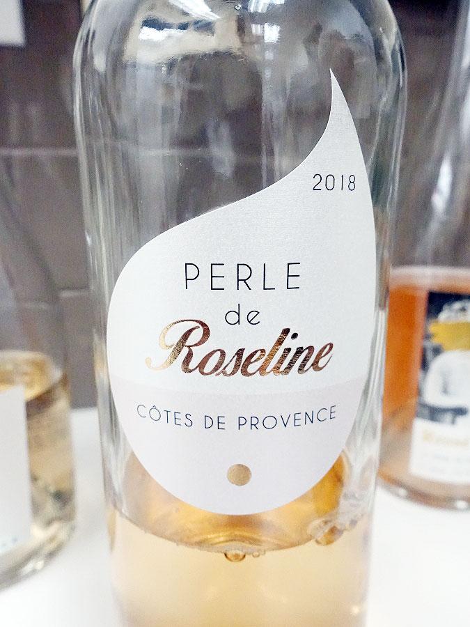 Perle de Roseline Rosé 2018 (89 pts)
