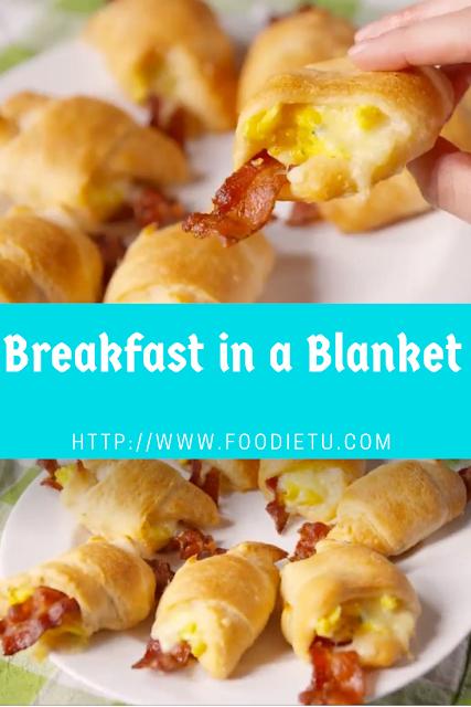 Breakfast in a Blanket