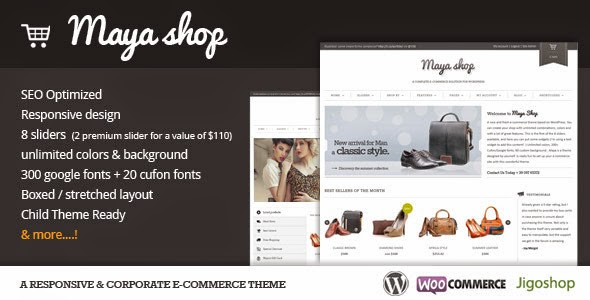 MayaShop A Flexible Responsive E - Commerce