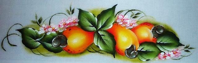 pintura em tecido cajus