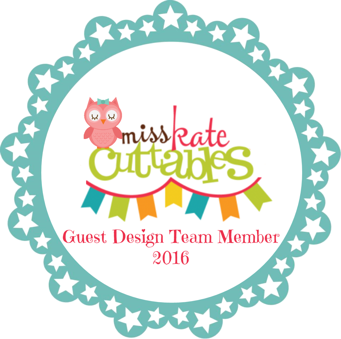 GUEST DESIGNER MISS KATE CUTTABLES JANUARY 29th 2016