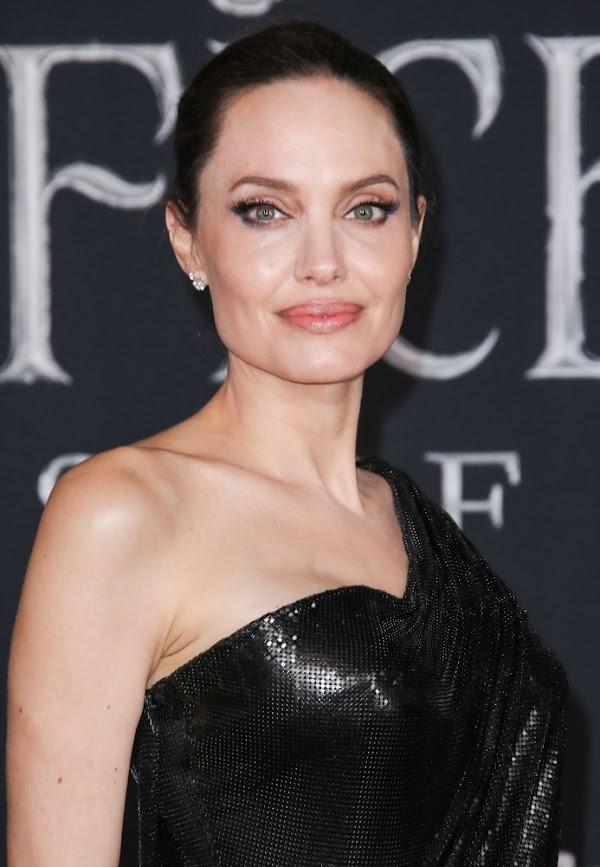 Angelina Jolie Clicks At Maleficent Mistress Of Evil