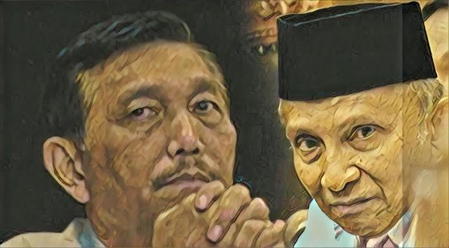 """Amien Rais """"Diancam"""" Luhut, Johan Khan: Selama ini Istana Cari Dosa Lawan Politik untuk Disandera?"""