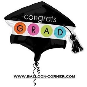 Balon Foil Topi Congrats Grad (NEW)