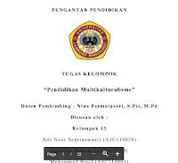 Makalah Tentang Pengertian Pendidikan Multikultural Di Indonesia  – Fakultas Keguruan Dan Ilmu Pendidikan